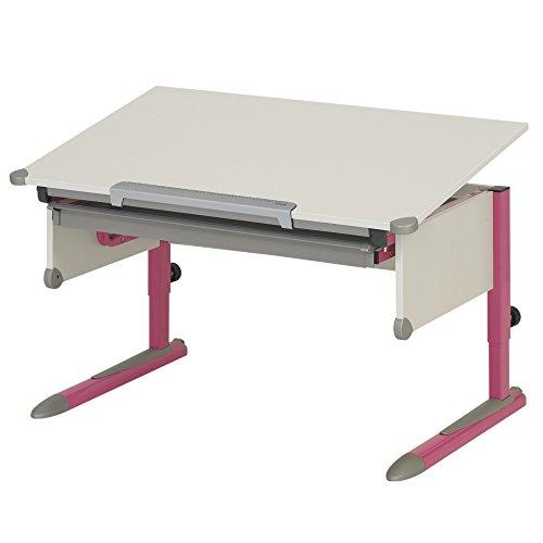 Kettler Kinderschreibtisch College Box II weiß/pink