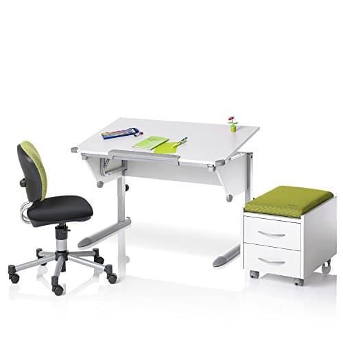 Kettler 06622-270 Schülerschreibtisch Cool Top, silber / weiß -