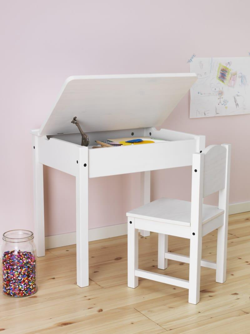 Kindertisch Sundvik Schulbank von IKEA